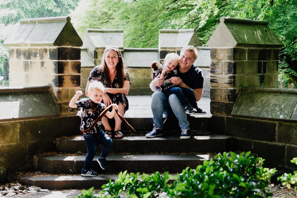 Saltwell Park Pre wedding shoot with the awesome Lee & Nat