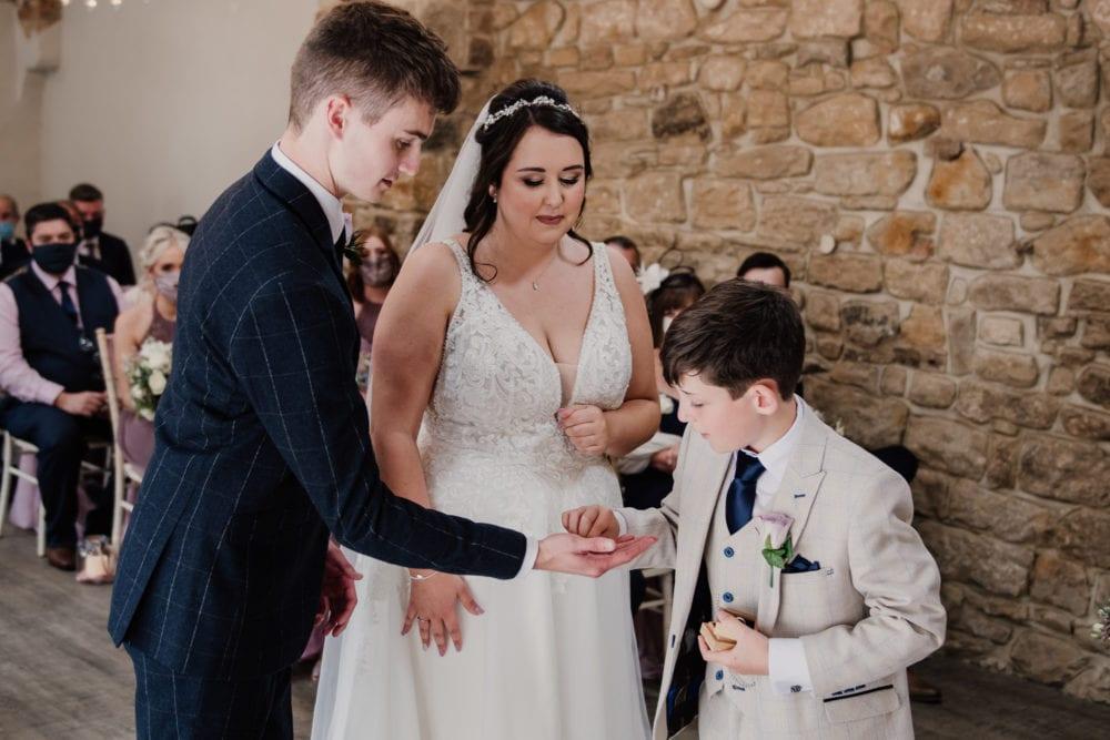 A beautiful wedding at Shotton Grange with Emily & Ben