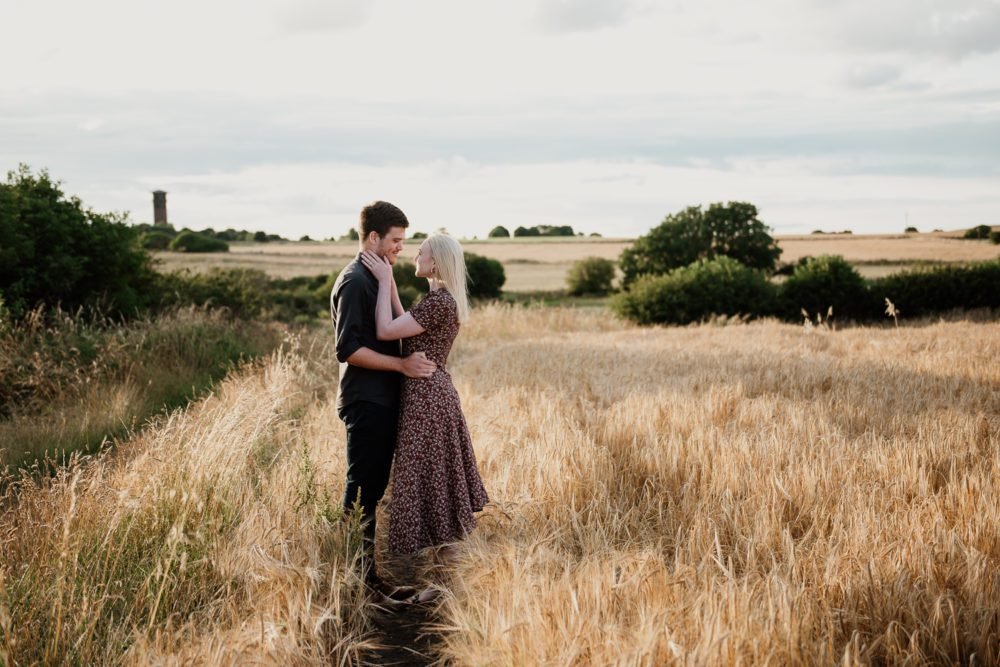A stunning sunder pre wedding photography with Patrick & Kristen