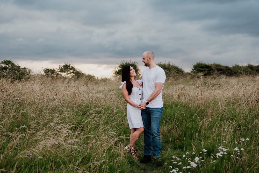 St Mary's Lighthouse pre wedding photography with the awesome Lisa & Gav
