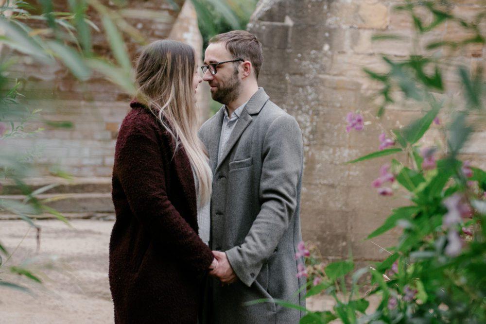 a gorgeous pre wedding photography at Corbridge with Natalie & Matt