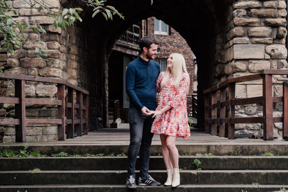 what an amazing pre wedding in Newcastle city with Emily & Martin
