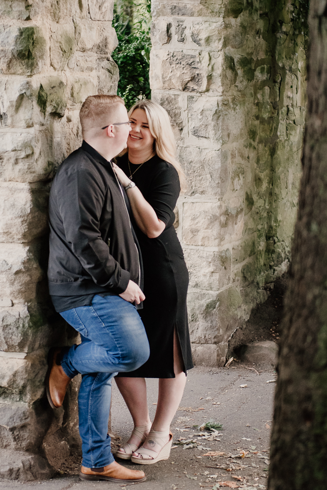 vA gorgeous pre wedding shoot in Saltwell Park with Antonia & Sean-Paul