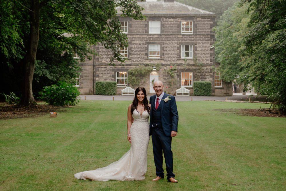 A stunning wedding at Shotton Grange with Lisa & Gav