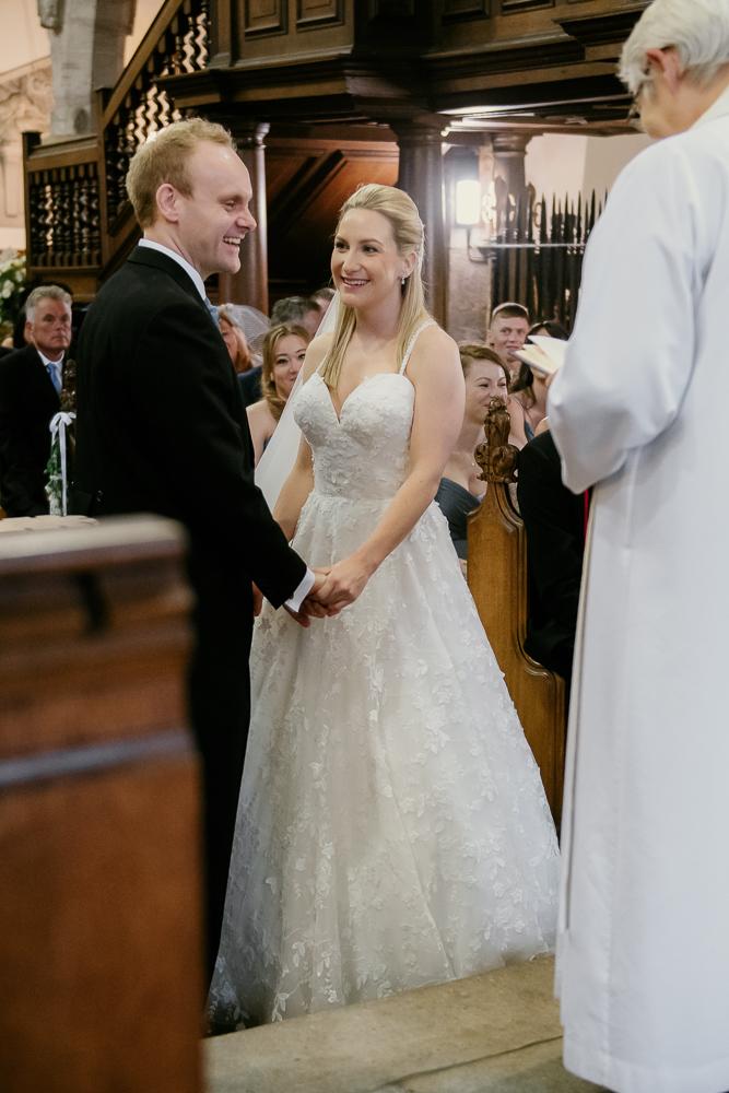 Frances & Jonathan's beautiful wedding at The Croft Hotel