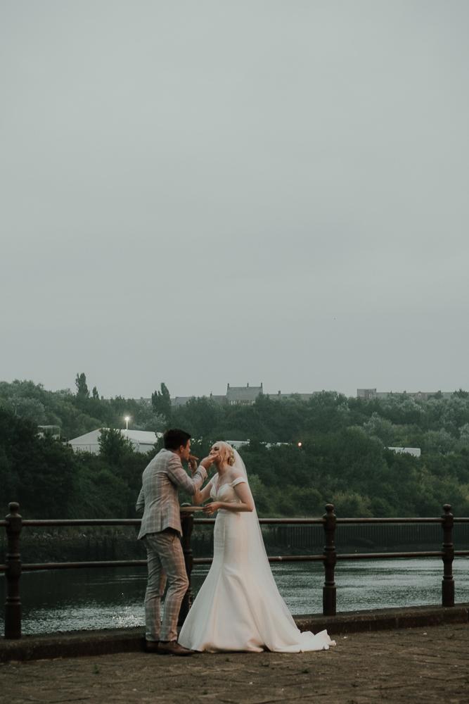 amazing wedding at Webster's Ropery, Sunderland with Kristen & Patrick